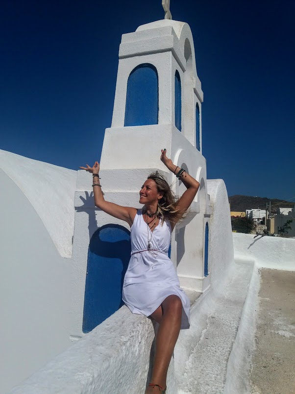 Jewels Bertrand Soul Journey Meditation Retreat Santorini Greece