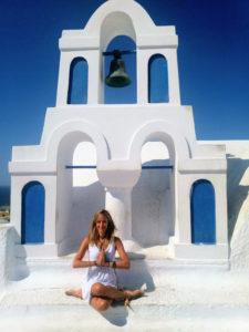 Julie Jewels Bertrand Soul Journey Retreat Santorini Greece Oia