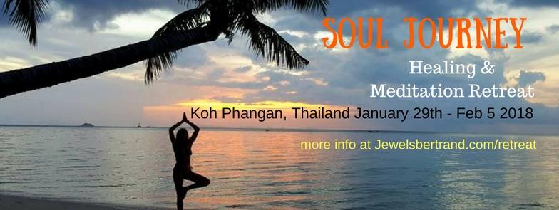 Sacred Soul Journey Healing and Meditation Retreat with Julie Jewels Bertrand in Koh Phangan Thailand Jan 29-Feb 5 2018