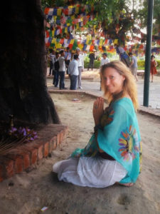 Shine Your Light Julie Jewels Bertrand Lumbini Nepal 10-Day Vipassana Meditation Retreat Birthplace of Buddha
